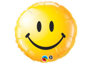 Emoji Smiley grinsend Luftballon