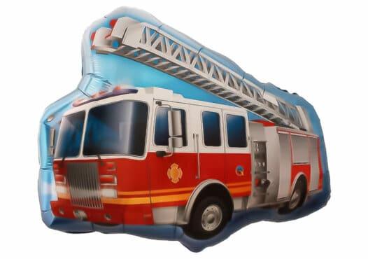 Feuerwehrwagen Drehleiter Luftballon