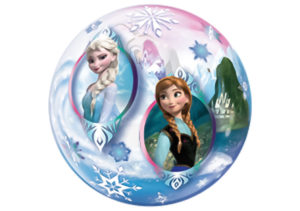 Frozen Elsa Anna Schneekönigin Bubble Luftballon