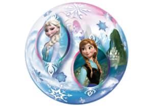 Frozen Elsa Anna Schneekönigin Bubble Luftballon