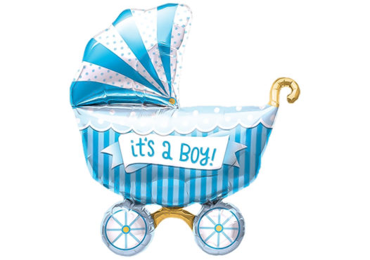 Kinderwagen blau Baby It's a boy