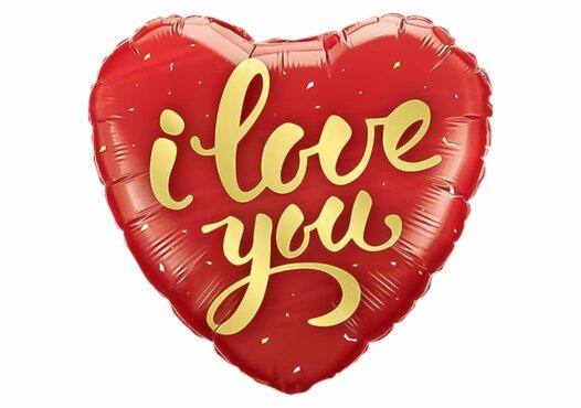 "Herz ""I love you"" Luftballon"