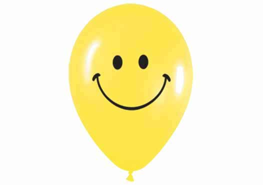 Luftballon-Smiley