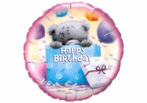 Teddy Bär Happy Birthday Luftballon