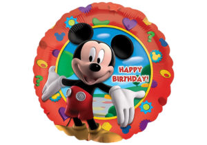 Micky Maus Happy Birthday Luftballon