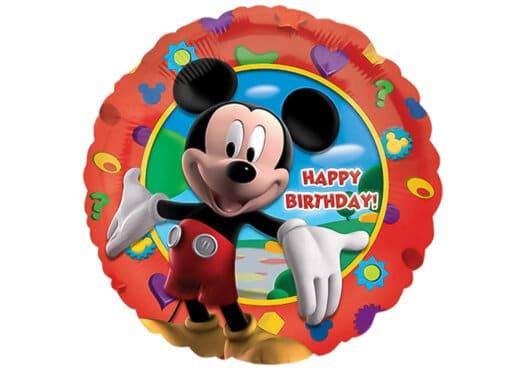 Micky Maus Happy Birthday Luftballon