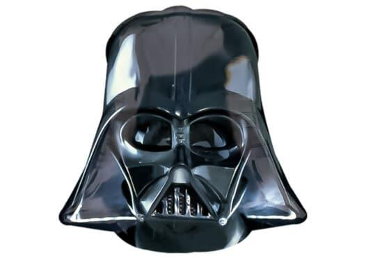 Darth Vader Kopf Star Wars Luftballon