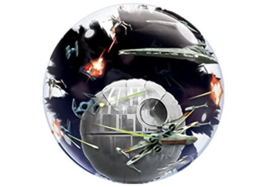 Star Wars Todesstern Luftballon Bubble