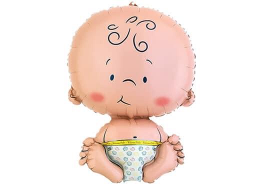 Luftballon zur Geburt Welcome Baby