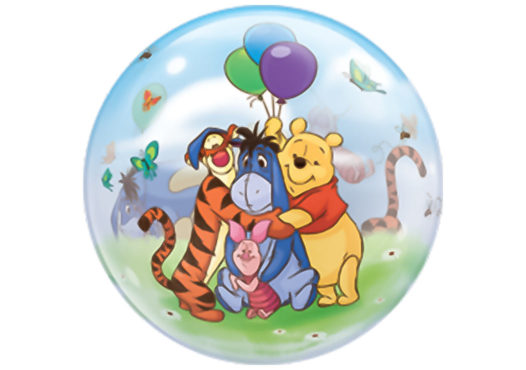 Winnie Pooh Luftballon Bubble