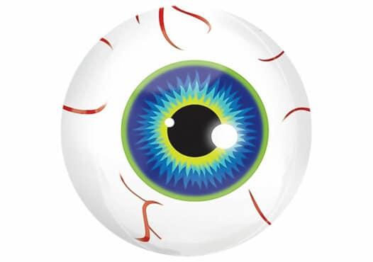 Auge Luftballon Halloween