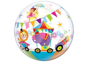 Zirkus Luftballon bunt Bubble