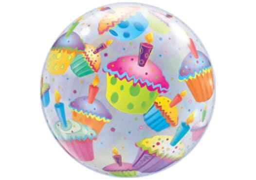 Party Luftballon mit Muffins