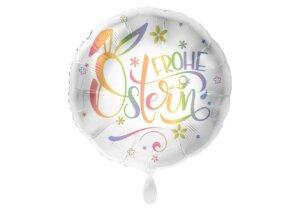 Frohe Ostern bunter Luftballon