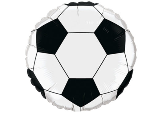 Luftballon Fußball 85 cm