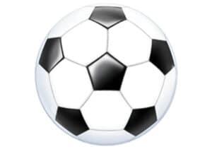 Fussball Luftballon Ball