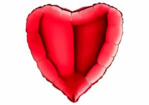 Riesen Herz Luftballon rot