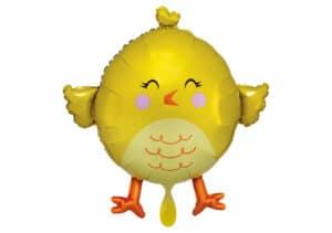Küken Luftballon gelb