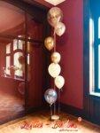 Schloss Eldingen Luftballon-Kaskade im Speisesaal